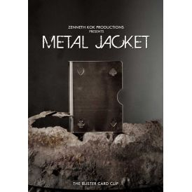 Metal Jacket Card Clip