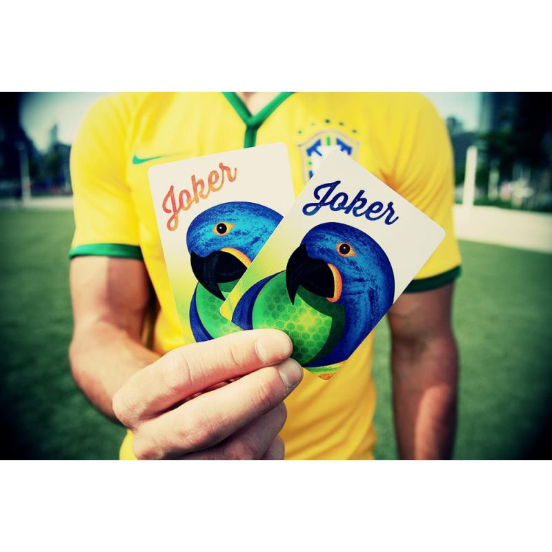Who And Where Are Brazil Playing This Month And Who Is In: Brazil 2014 Playing Cards Deck