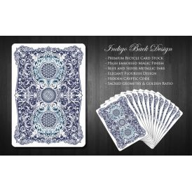 Mana Playing Cards Indigo Cartes