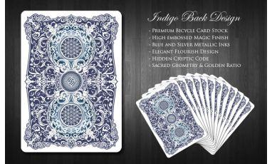 Mana Playing Cards Indigo Cartes Deck