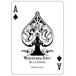 """Black Edition"" Whispering Imps Playing Cards"