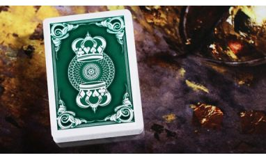 Crown Deck Green V1 Playing Cards