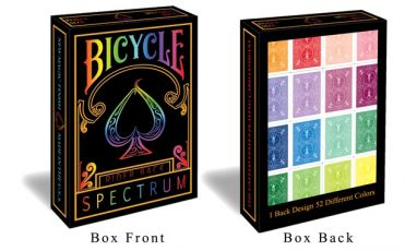Bicycle Spectrum Cartes Deck Playing Cards