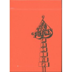 Ace Fulton Casino Playing Card Orange Deck
