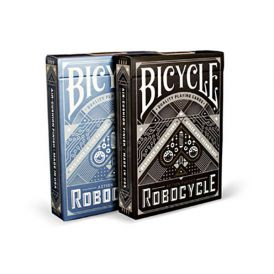 Bicycle Robocycle Blue Cartes Deck Playing Cards