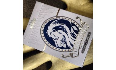 White Lions Series B Blue Cartes