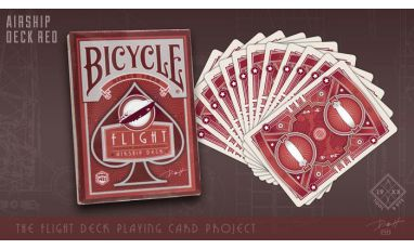Bicycle Flight Airship Deck Cartes Playing Cards