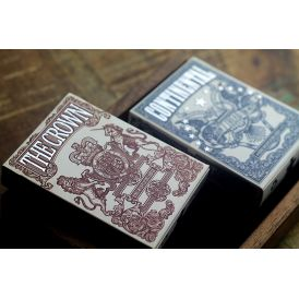 Independence The Crown Red Cartes Deck Playing Cards