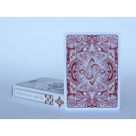 Legends Egyptian Edition Red Deck Playing Cards