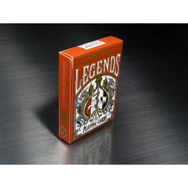 LEGENDS V2 Red Cartes Deck Playing Cards