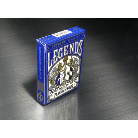 LEGENDS V2 Blue Cartes Deck Playing Cards