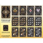 Bicycle White Ornate Obsidian Deck Playing Cards