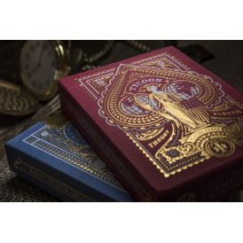 Tycoon Red Deck Playing Cards