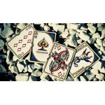 Unbranded White Ornate Scarlet Cartes Deck Playing Cards