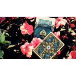 Unbranded White Ornate Sapphire Cartes Deck Playing Cards