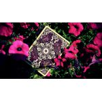 Unbranded White Ornate Amethyst Cartes Deck Playing Cards