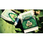 Unbranded White Ornate Emerald Deck Playing Cards
