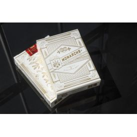 White Gold Monarchs V2 Deck Playing Cards