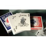 Bicycle Lefty Red Deck Playing Cards