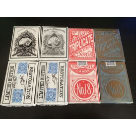 Triplicates Set Cartes Deck Playing Cards