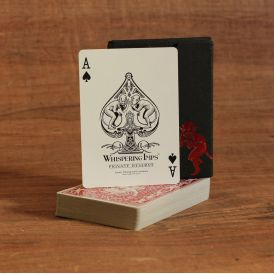 Whispering Imps Private Reserve Red Deck Playing Cards