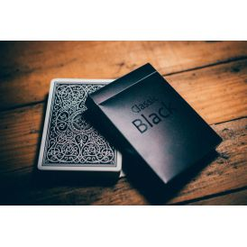Classic Black Cartes Deck Playing Cards