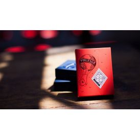 Voltige Moulin Rouge Red Deck Playing Cards