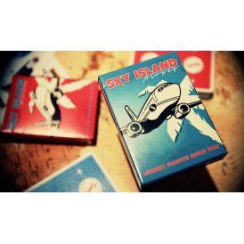 Sky Island Blue Cartes Deck Playing Cards