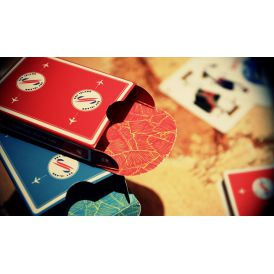 Sky Island Red Cartes Deck Playing Cards