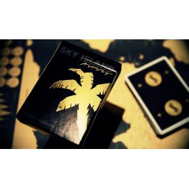 Sky Island Black And Gold Cartes Deck Playing Cards