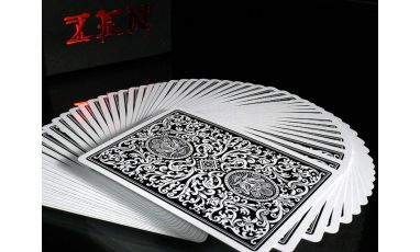 Zen Black Cartes Deck Playing Cards