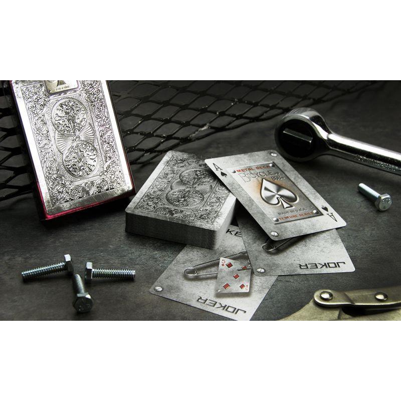 Bicycle Metal Cartes Deck Playing Cards Cartes Magie