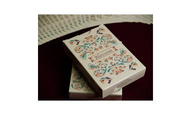 Blossom Spring Metallic Deck Playing Cards