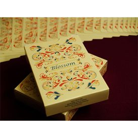 Blossom Fall Metallic Deck Cartes Playing Cards
