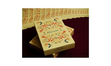 Blossom Fall Metallic Deck Playing Cards