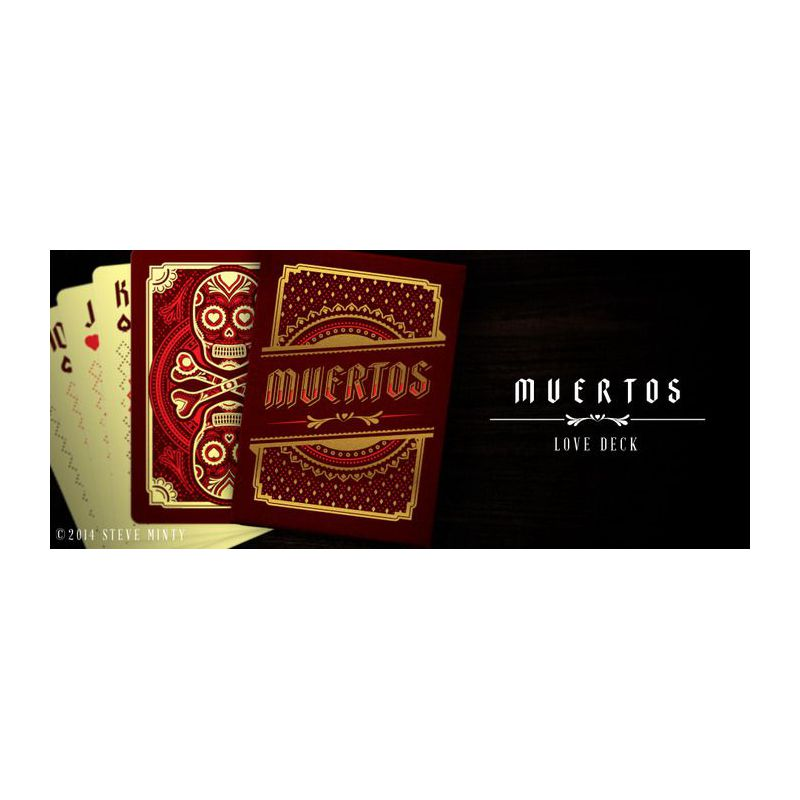 Muertos Colored Decks Set Playing Cards Cartes Magie