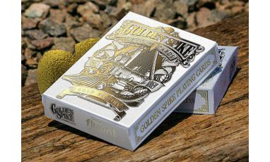 Golden Spike Limited Gold Edition Deck Playing Cards