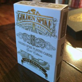 Golden Spike Limited Signature Gold Deck Playing Cards