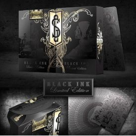 Golden Spike Limited Black Ink Edition Deck Playing Cards