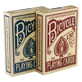Bicycle 130th Anniversary Set Cartes Deck Playing Cards