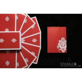 Zen Pure Red Prototype Deck Playing Cards