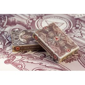 Bicycle Branded Reserve Note White Cartes Deck Playing Cards