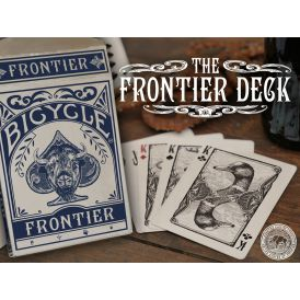 Bicycle Frontier Blue Cartes Deck Playing Cards