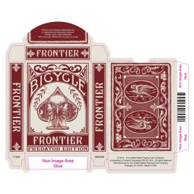Bicycle Frontier Red Predator Cartes Deck Playing Cards