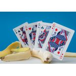 MailChimp Red Deck Playing Cards