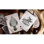 Antler Hunter Green Deck Playing Cards