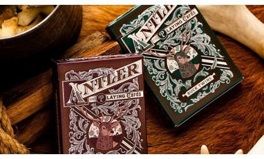 Antler Hunter Green Cartes Deck Playing Cards