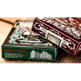 Antler Deep Maroon Limited Deck Playing Cards
