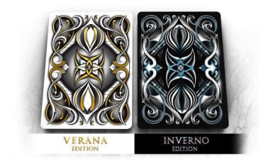 Seasons Playing Cards Verana White Cartes Deck