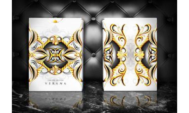 Seasons Playing Cards Verana White Limited Cartes Deck